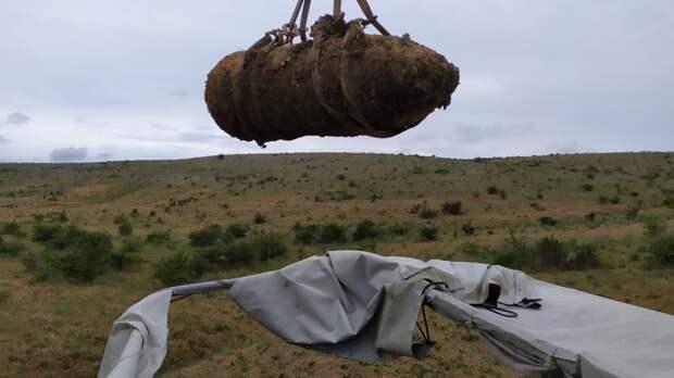 В Крыму обезвредили 6 бомб времён войны