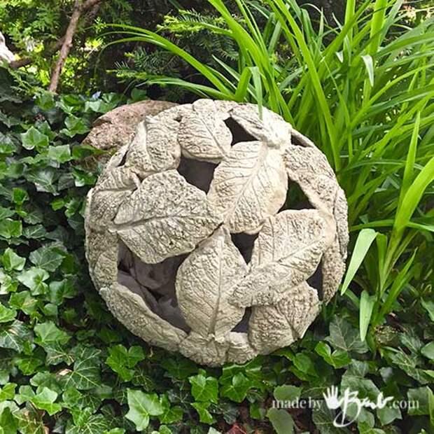 Удивительно красивый, уютный и бюджетный декор для сада. А главное проще не придумаешь