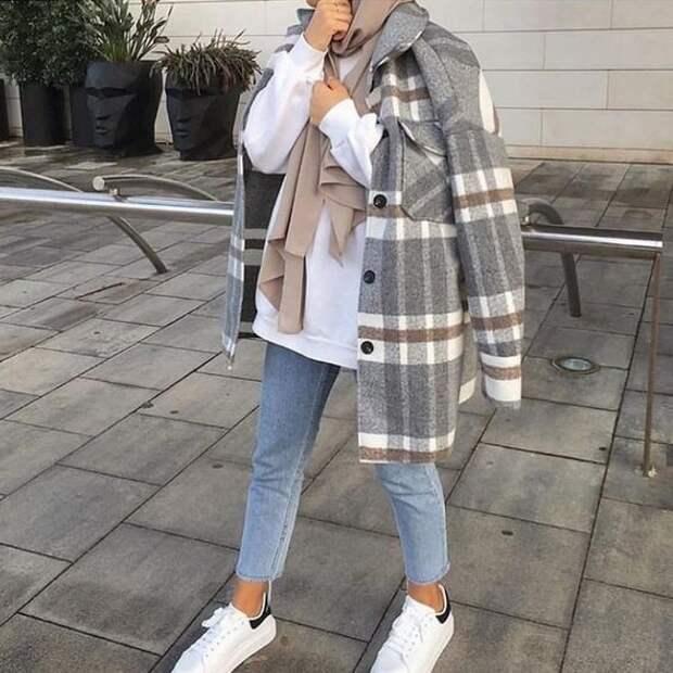 Куртка-рубашка – с чем носить – образы