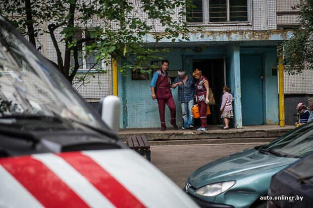 Беларусь. Один день с медиками скорой помощи Один день, скорая помощь