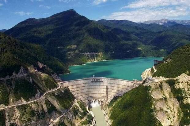 Ингурская ГЭС, Фото взято из Википедии