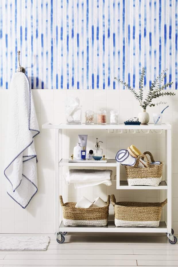10 отличных идей для хранения вещей в маленькой ванной комнате