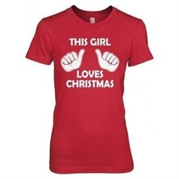 Эта девочка любит Рождество!