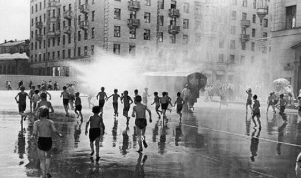 10. Водные процедуры. СССР, интересное, история, фотографии