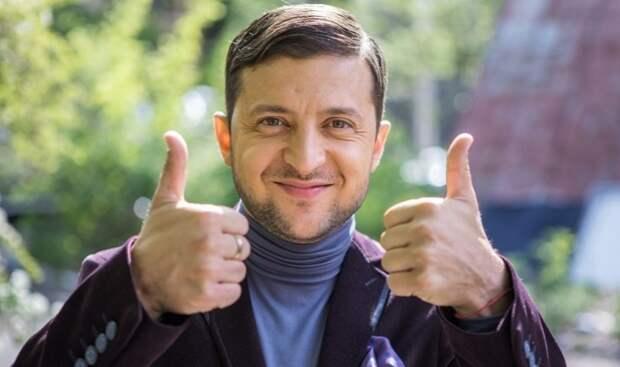 Уклонист-мажор Зеленский жёстко забривает украинскую молодёжь на убой в Донбасс