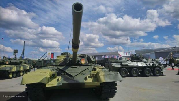 Советские танки Т-34 показали свои возможности на полигоне в Алабино