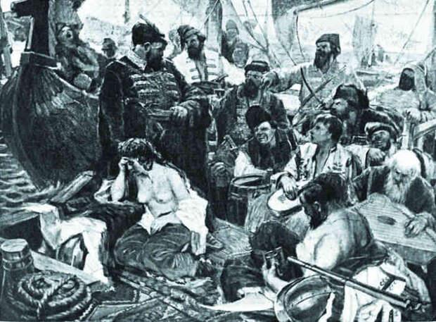 А. Александров «Степан Разин после победы над персами»