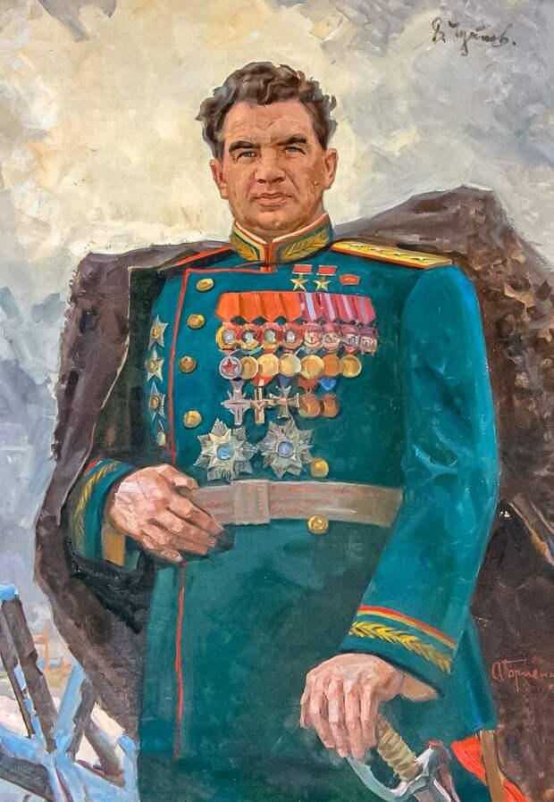 Русский герой Василий Иванович Чуйков и подлость современной белогвардейщины