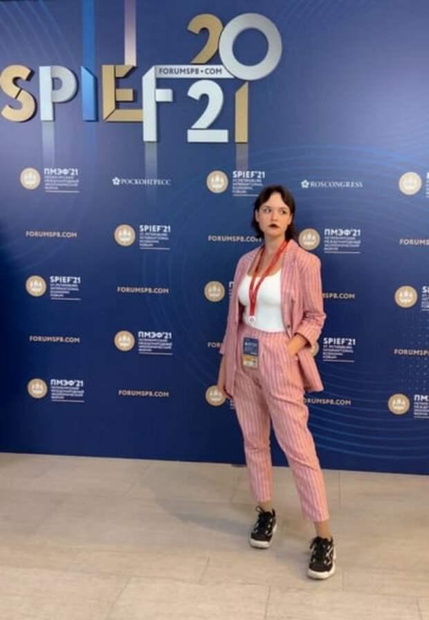 Рязанская студентка вошла в состав молодёжного пресс-центра ПМЭФ-2021