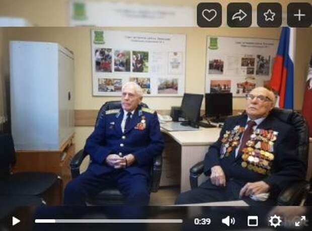 В Лианозове провели онлайн-встречу в память о Сталинградской битве