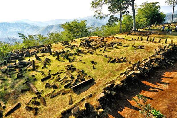 Обустройство террас Гунунг Паданг аналогично Мачу-Пикчу в Перу