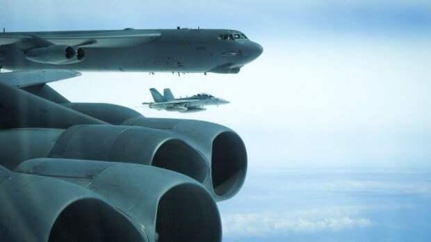 США поднимут на днях в небо у российских границ крупную авиагруппировку