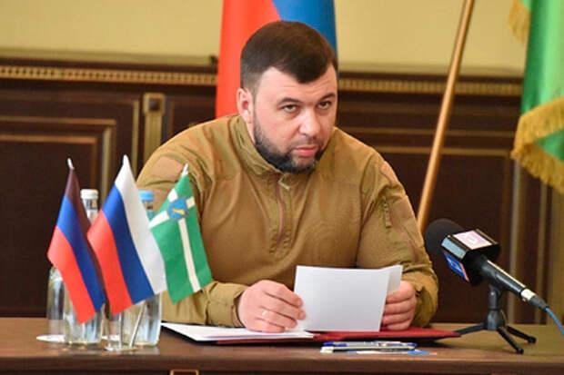 Глава ДНР заявил об ухудшении ситуации в Донбассе