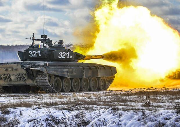 В Нижегородской области прошла активная фаза двухстороннего тактического учения с танковой армией ЗВО