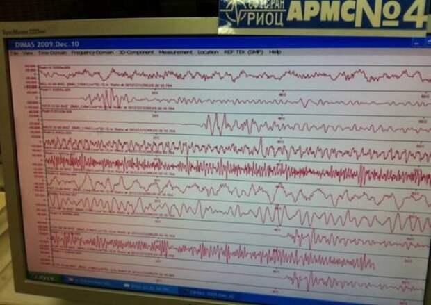 Землетрясение вновь почувствовали жители Иркутской области