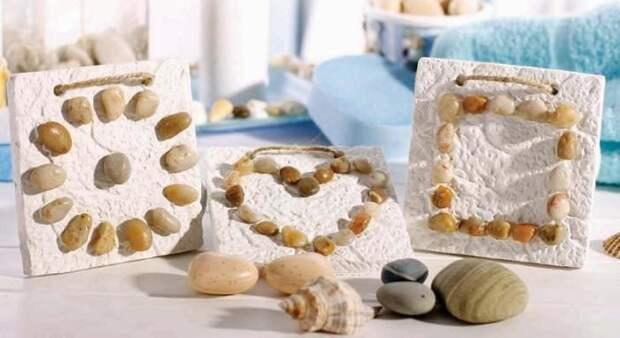 Оригинальный декор из натуральных камней