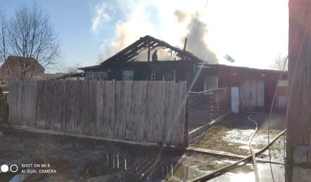 Стали известны подробности пожара наулице Ильича вНижнем Тагиле