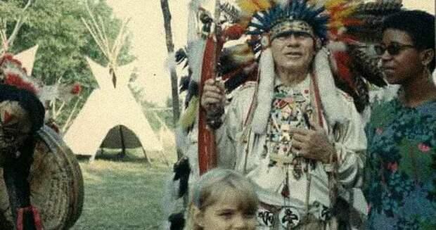 Как советский летчик стал вождём индейского племени