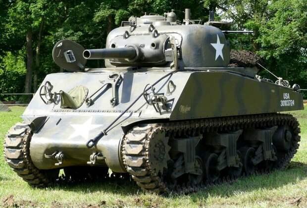 M4 Sherman, выпущенный в 1942 году