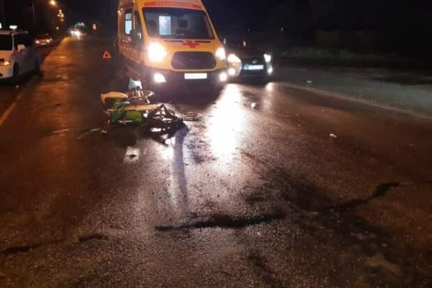 Мотоциклист погиб при столкновении с легковым автомобилем в Уссурийске