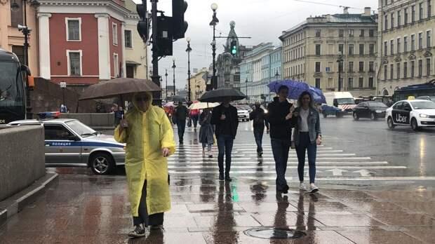 Синоптики вновь прогнозируют в Петербурге дожди