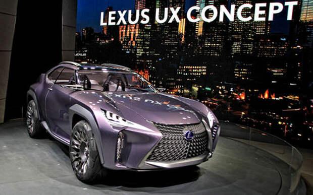 Шоу в японском стиле: Lexus UX показал Парижу, что такое настоящий концепткар