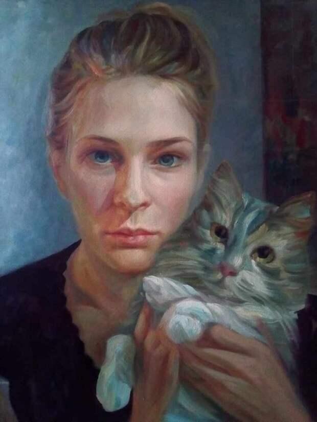 Сербский художник. Marija Knezevic