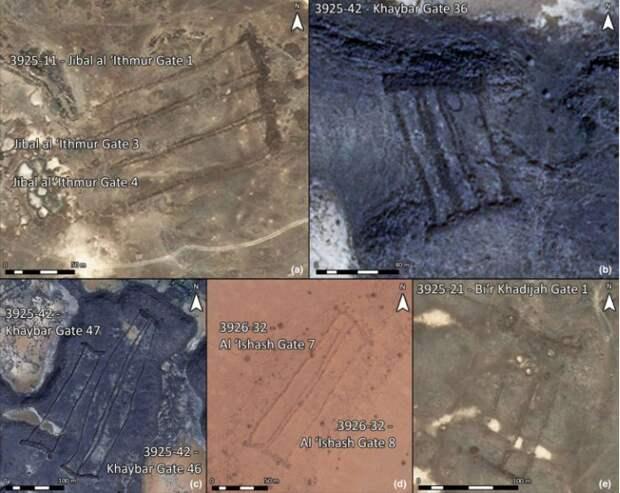 В Аравии обнаружили множество каменных древних стен с пирамидками