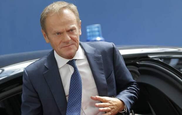 Глава Евросовета Дональд Туск Julien Warnand, Pool Photo via AP