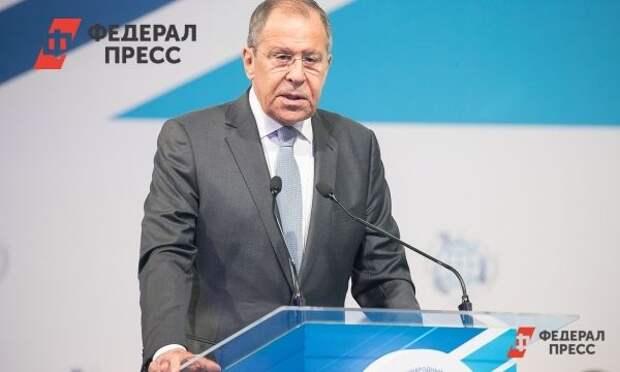 Лавров обвинил ЕС в желании не отстать от США в попытках «наказать» Россию