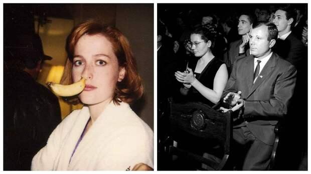 14 редких фото знаменитостей: Ким Кэтролл на свидании с премьер-министром и другие звезды