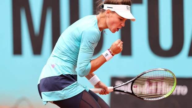 Кудерметова сыграет с Мертенс в первом круге «Мастерса» в Риме и другие результаты жеребьевки