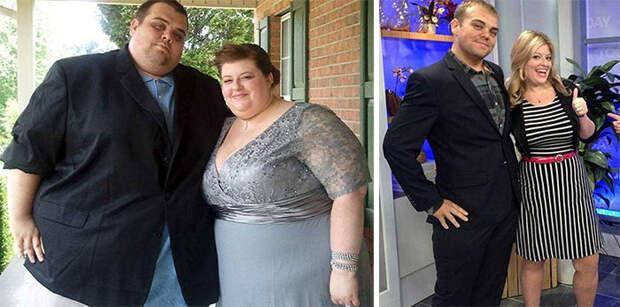 Эта пара из штата Теннесси потеряла 244 кило на двоих диета, лишний вес, похудение