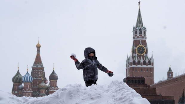 Россия — большой белый медведь