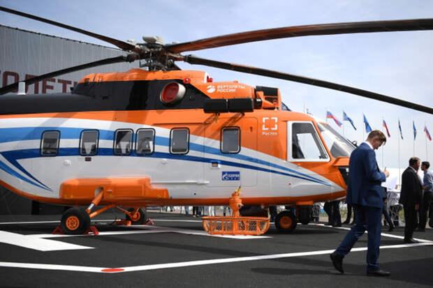 ДетищеУУАЗа вертолетМи-171А3 называютглавным конкурентом Ми-38