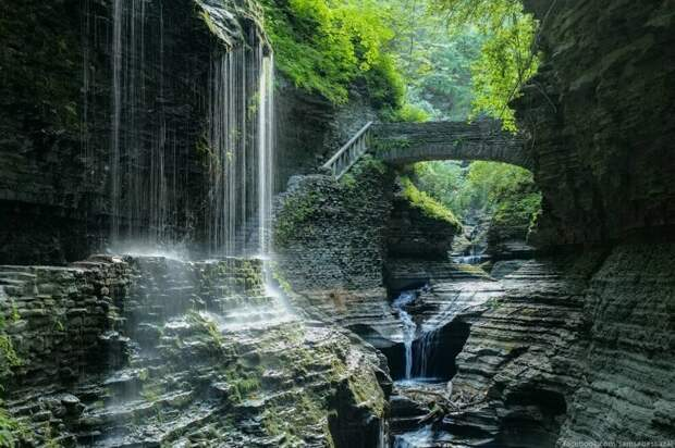 Уоткенс-Глен Парк: возможно, самое красивое место штата Нью-Йорк