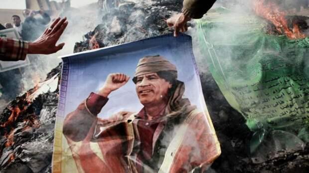 Замученный Каддафи мстит своим губителям из могилы