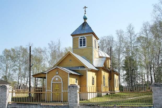 1926 - Церковь Успения Пресвятой Богородицы - Войново - Меленковский район - Владимирская область