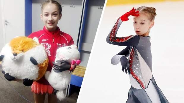Юниоры группы Тутберидзе на Кубке России: Акатьевой подарили лису за триксель, Садкова дебютировала