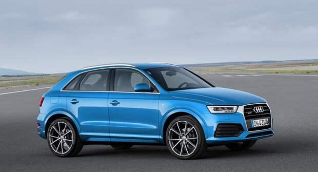 Новая, но поздно вышедшая Audi Q3 I