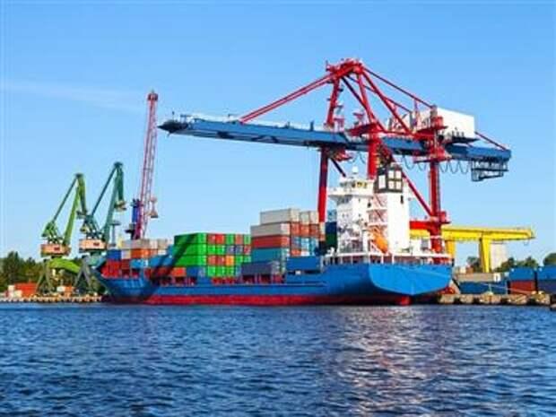 Грузооборот морских портов РФ