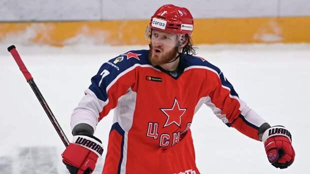 Телегин подписал контракт с «Авангардом»