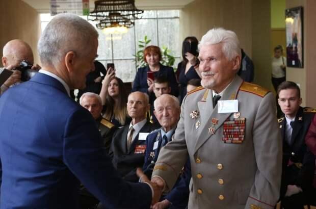 Награждение ветеранов войны состоялось в КЦ «Салют»