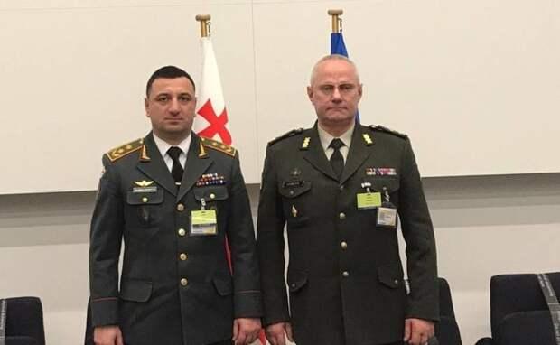 «Повышать квалификацию»: Украинских военных отправят в Грузию