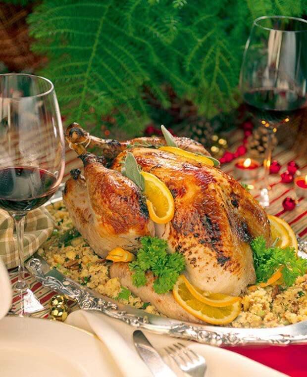 Птица счастья: индейка ко Дню благодарения