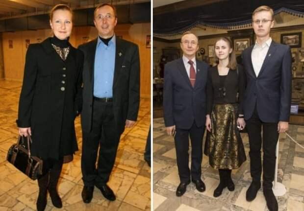 Актер с женой и детьми | Фото: starhit.ru