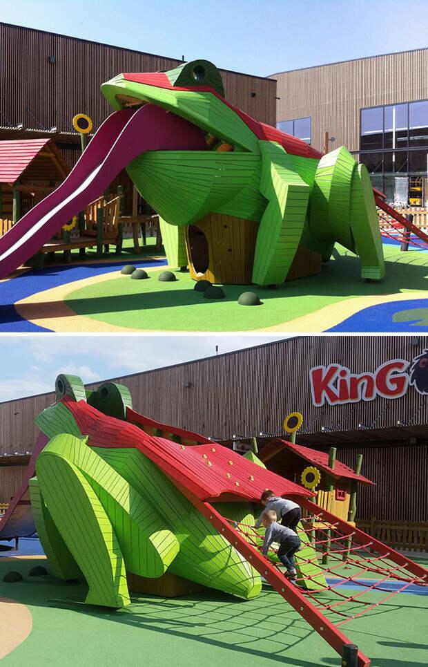 Восхитительные детские площадки