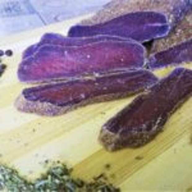 Вяленая говядина «Пряная» в домашних условиях