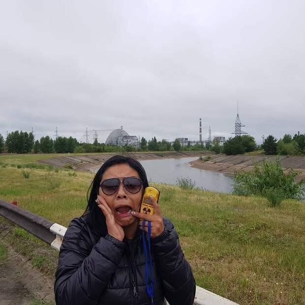 8 туристических фото с Чернобыльской АЭС