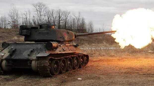 В России танки Т-34 начали восстанавливать до боевого состояния